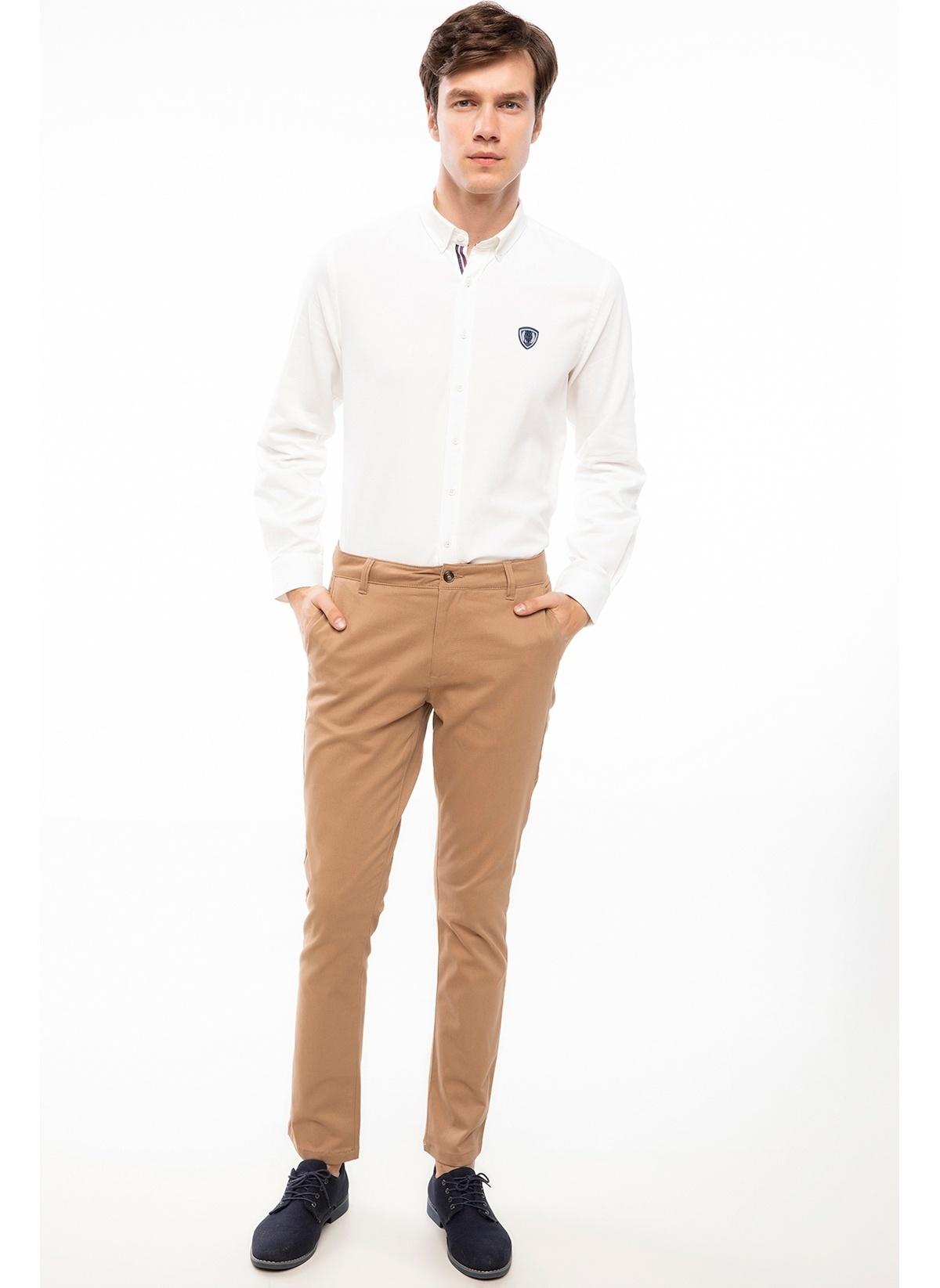 Defacto Bruno Slim Fit Chino Pantolon J1045az18aubg223 Pantolon – 59.99 TL